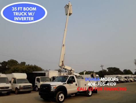 2013 Ford F-450 Super Duty for sale at DOABA Motors - Work Truck in San Jose CA