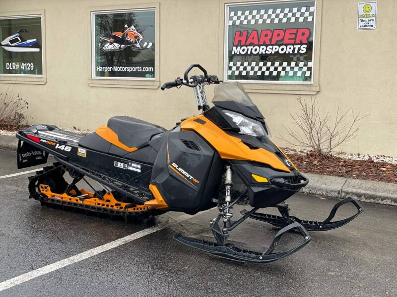 2014 Skidoo Summit  600 XM Electric Start for sale at Harper Motorsports-Powersports in Post Falls ID