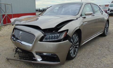 2019 Lincoln Continental for sale at Kenny's Auto Wrecking in Lima OH