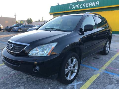 2006 Lexus RX 400h for sale at Trans Copacabana Auto Sales in Hollywood FL