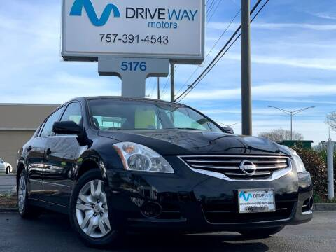 2012 Nissan Altima for sale at Driveway Motors in Virginia Beach VA