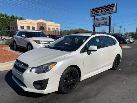 2014 Subaru Impreza for sale at Auto Sports in Hickory NC