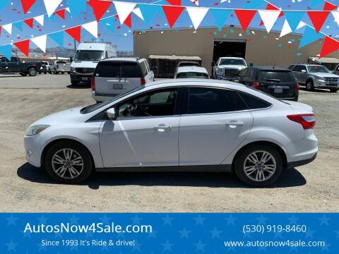 2012 Ford Focus for sale at AUCTION SERVICES OF CALIFORNIA in El Dorado CA