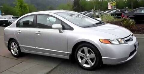 2006 Honda Civic for sale at Angelo's Auto Sales in Lowellville OH