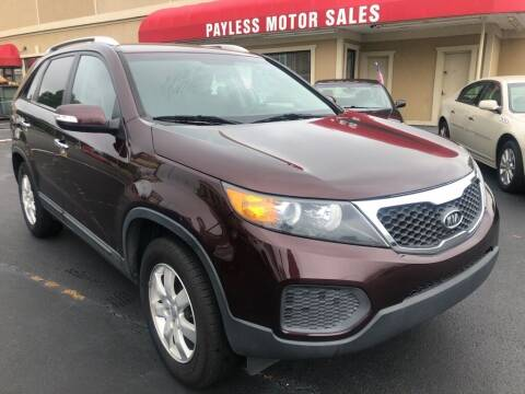 2012 Kia Sorento for sale at Payless Motor Sales LLC in Burlington NC