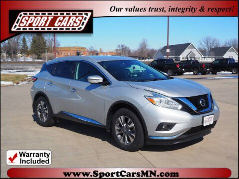 2016 Nissan Murano for sale at SPORT CARS in Norwood MN