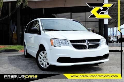 2017 Dodge Grand Caravan for sale at Premium Cars of Miami in Miami FL