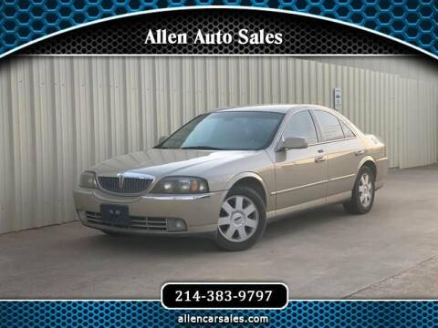 2004 Lincoln LS for sale at Allen Auto Sales in Dallas TX