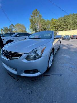 2012 Nissan Altima for sale at GEORGIA AUTO DEALER, LLC in Buford GA