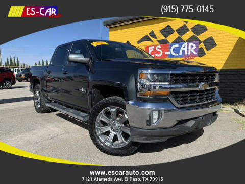 2017 Chevrolet Silverado 1500 for sale at Escar Auto in El Paso TX