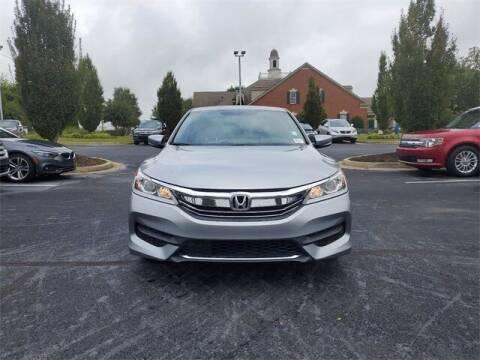 2016 Honda Accord for sale at Southern Auto Solutions - Georgia Car Finder - Southern Auto Solutions - Lou Sobh Honda in Marietta GA