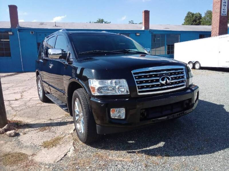 2008 Infiniti QX56 for sale at HWY 49 MOTORCYCLE AND AUTO CENTER in Liberty NC