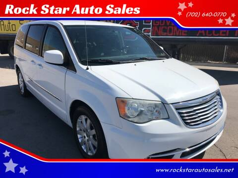 2014 Chrysler Town and Country for sale at Rock Star Auto Sales in Las Vegas NV