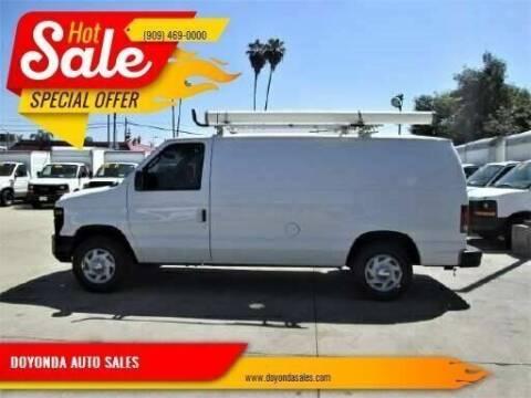 2011 Ford E-150 for sale at DOYONDA AUTO SALES in Pomona CA