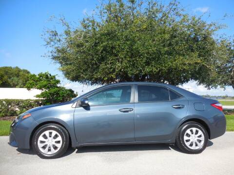 2014 Toyota Corolla for sale at Performance Autos of Southwest Florida in Fort Myers FL