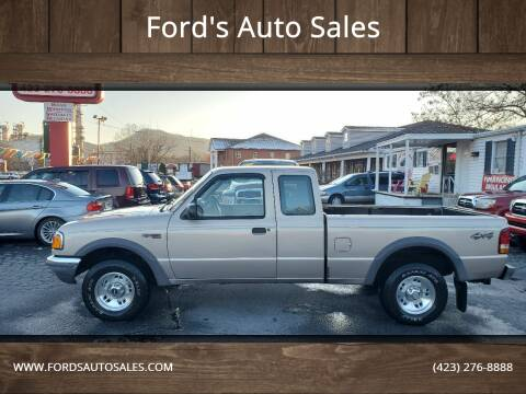 1997 Ford Ranger for sale at Ford's Auto Sales in Kingsport TN