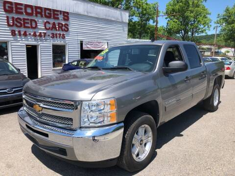 2013 Chevrolet Silverado 1500 for sale at George's Used Cars Inc in Orbisonia PA