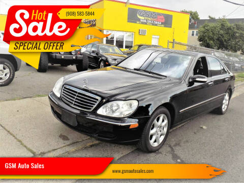 2006 Mercedes-Benz S-Class for sale at GSM Auto Sales in Linden NJ