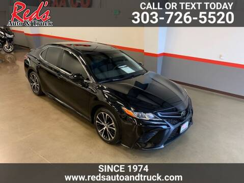 2018 Toyota Camry for sale at Red's Auto and Truck in Longmont CO