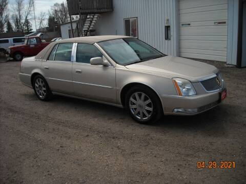 2008 Cadillac DTS for sale at Ron Lowman Motors Minot in Minot ND