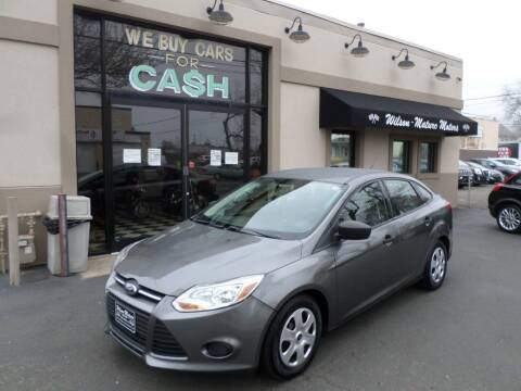 2013 Ford Focus for sale at Wilson-Maturo Motors in New Haven Ct CT