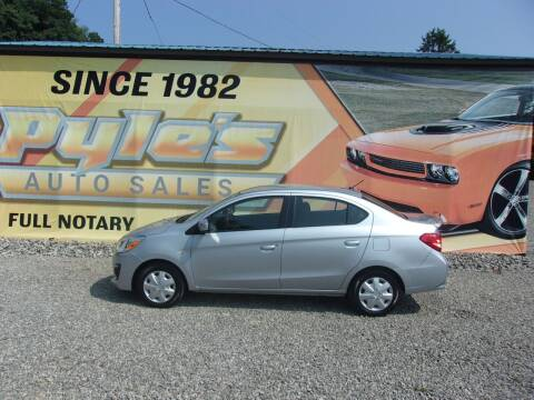 2018 Mitsubishi Mirage G4 for sale at Pyles Auto Sales in Kittanning PA