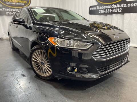 2016 Ford Fusion for sale at TRADEWINDS MOTOR CENTER LLC in Cleveland OH