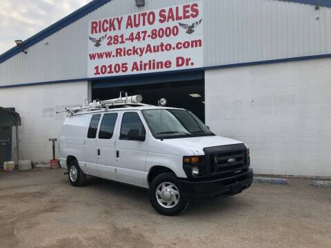2013 Ford E-Series Cargo for sale at Ricky Auto Sales in Houston TX