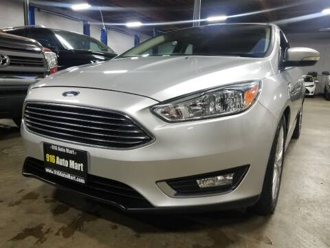 2017 Ford Focus for sale at 916 Auto Mart ONLY $399 DOWN!!!* in Sacramento CA