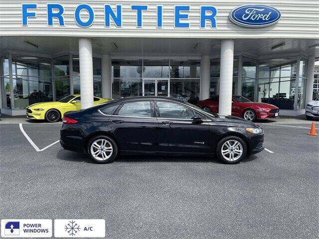 2018 Ford Fusion Hybrid for sale in Anacortes, WA