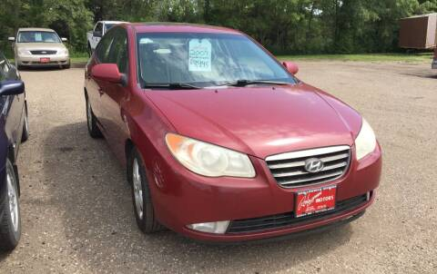 2007 Hyundai Elantra for sale at BARNES AUTO SALES in Mandan ND