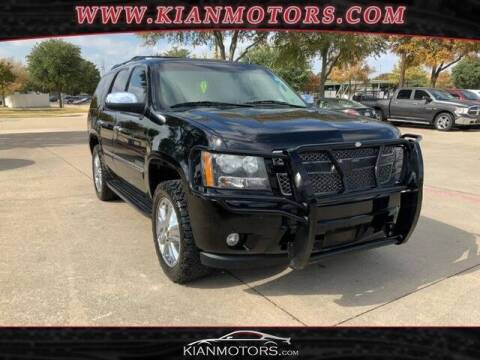 2010 Chevrolet Tahoe for sale at KIAN MOTORS INC in Plano TX