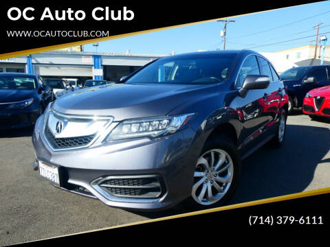 2017 Acura RDX for sale at OC Auto Club in Midway City CA