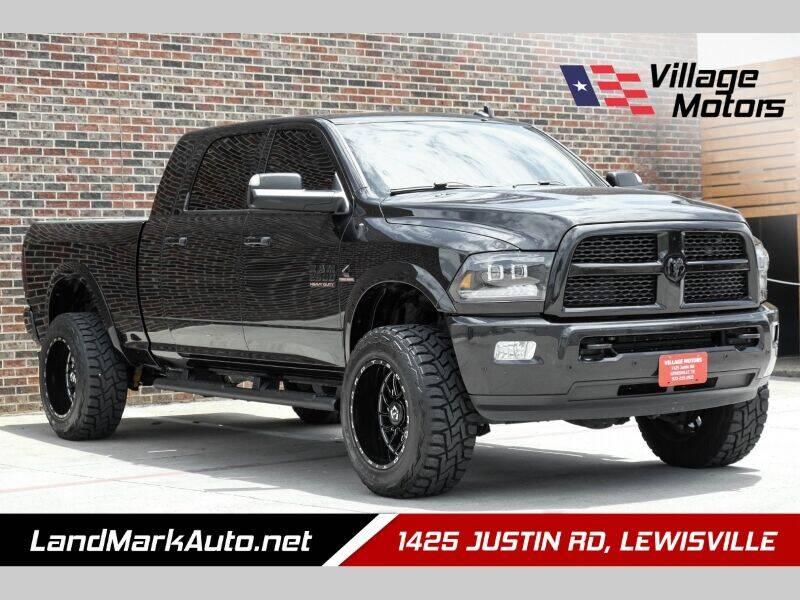 2017 RAM Ram Pickup 2500 for sale at Village Motors in Lewisville TX