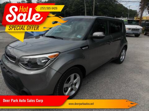2014 Kia Soul for sale at Deer Park Auto Sales Corp in Newport News VA