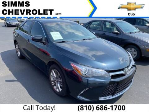 2017 Toyota Camry for sale at Aaron Adams @ Simms Chevrolet in Clio MI