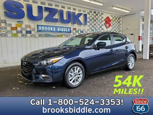 2018 Mazda MAZDA3 for sale at BROOKS BIDDLE AUTOMOTIVE in Bothell WA
