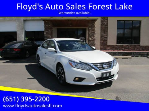 2017 Nissan Altima for sale at Floyd's Auto Sales Forest Lake in Forest Lake MN