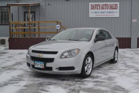 2011 Chevrolet Malibu for sale at Dave's Auto Sales in Winthrop MN
