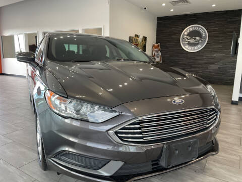2017 Ford Fusion for sale at Evolution Autos in Whiteland IN