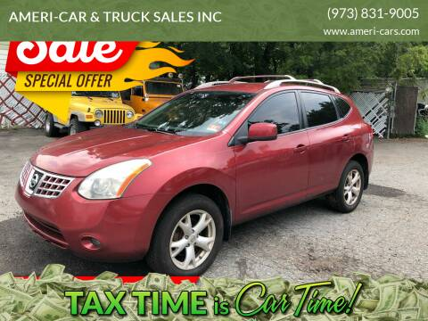 2008 Nissan Rogue for sale at AMERI-CAR & TRUCK SALES INC in Haskell NJ