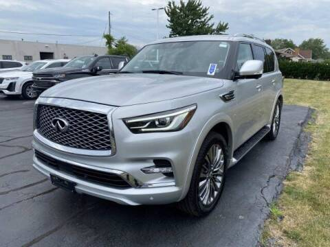 2018 Infiniti QX80 for sale at Cappellino Cadillac in Williamsville NY