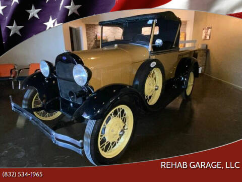 1928 Ford Model A for sale at Rehab Garage, LLC in Tomball TX