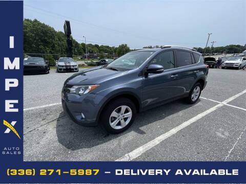 2014 Toyota RAV4 for sale at Impex Auto Sales in Greensboro NC