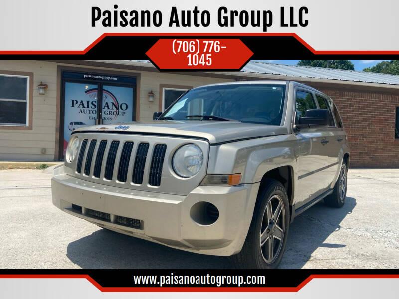 2009 Jeep Patriot for sale at Paisano Auto Group LLC in Cornelia GA