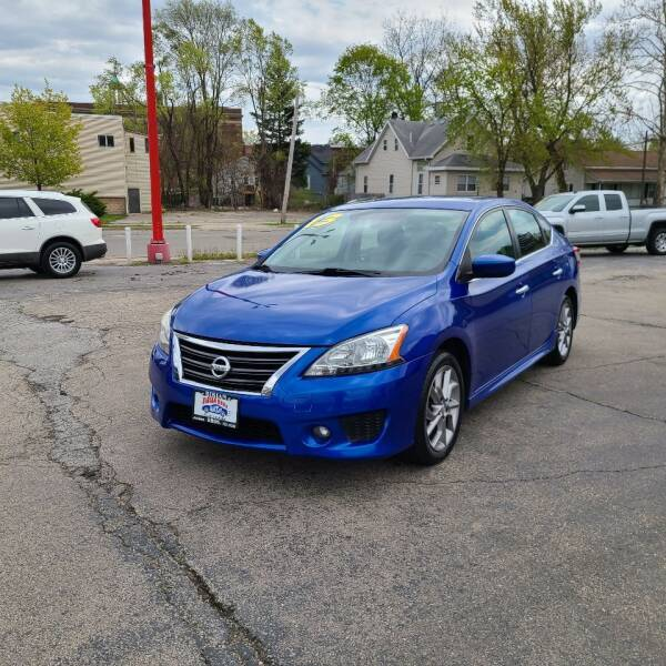 2013 Nissan Sentra for sale at Bibian Brothers Auto Sales & Service in Joliet IL