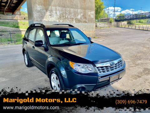 2011 Subaru Forester for sale at Marigold Motors, LLC in Pekin IL