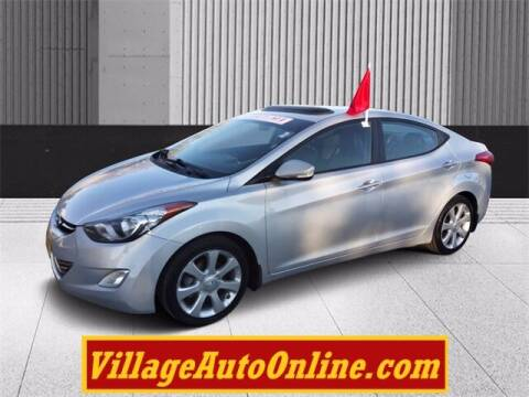2013 Hyundai Elantra for sale at Village Auto in Green Bay WI