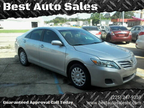 2011 Toyota Camry for sale at Best Auto Sales in Baton Rouge LA