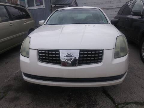 2004 Nissan Maxima for sale at K J AUTO SALES in Philadelphia PA